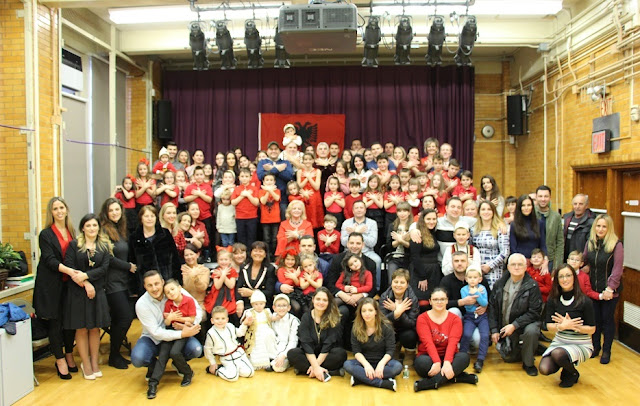 Concert by students of Albanian School Alba Life in New York at the end of the year