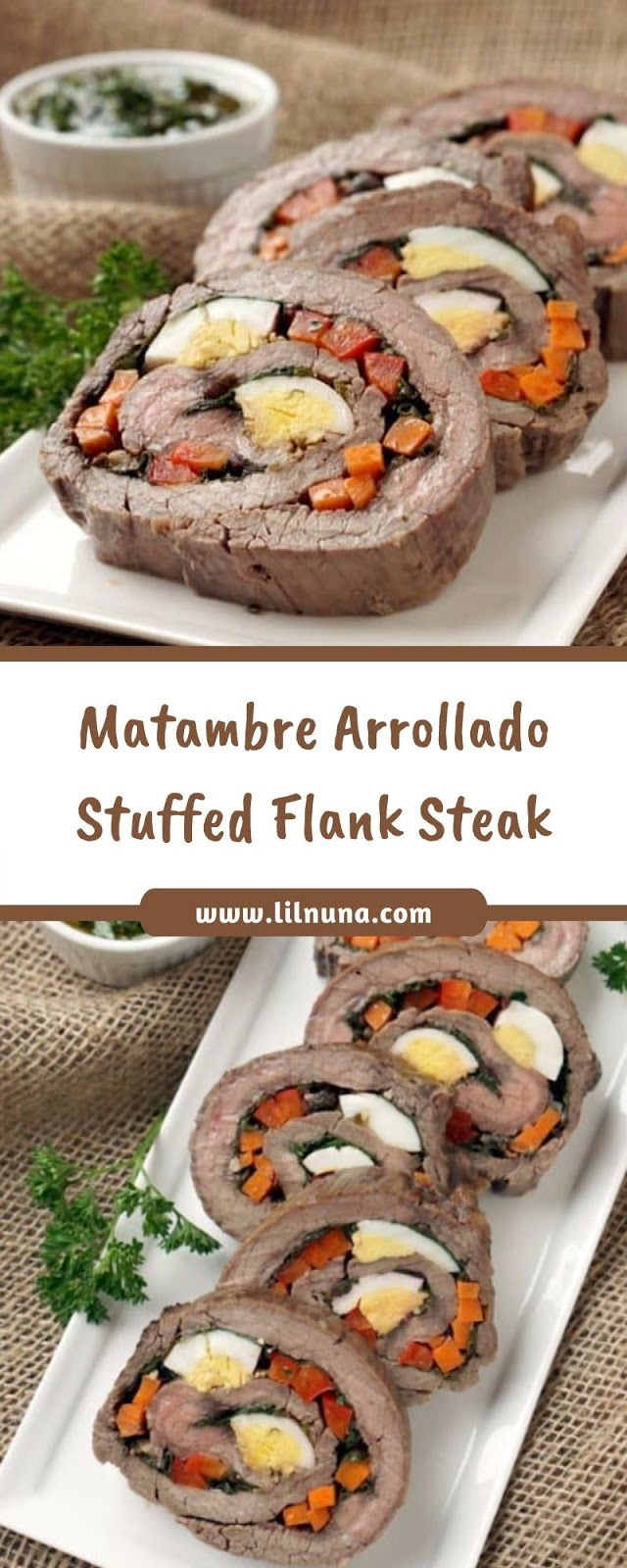 Matambre Arrollado Stuffed Flank Steak