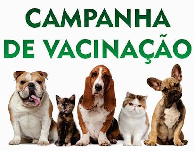 Campanha de Vacinação Animal 2018 em Iguape