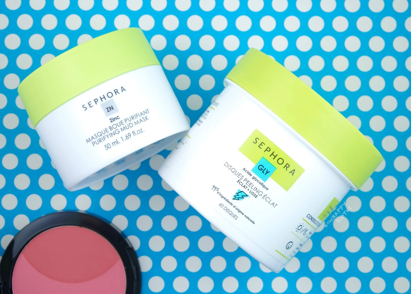 Sephora Collection | Purifying Mud Mask & Glow Peel Pads: Review and Swatches