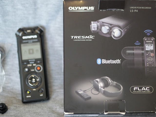 Before we test the Olympus LS-P4 voice recorder