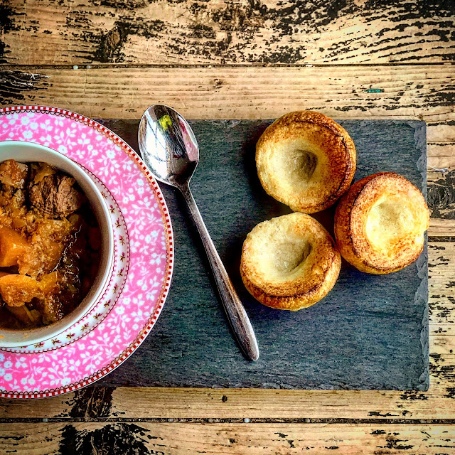 Beef and Butternut Casserole, a quick and easy pressure king pro recipe from Mandy Charlton, a photographer and blogger based in the North East