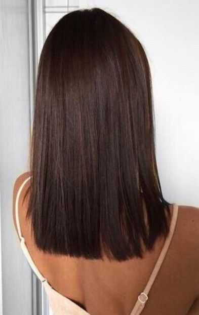 10 Girls In The 2020 Long Straight Hair Style