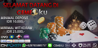 Situs Judi Idn Poker Online Terpercaya Idnplay Bandar Ceme