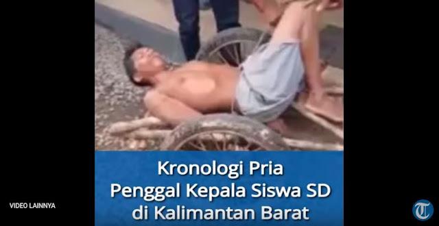 Sedang Belajar Kelompok, Siswa SD Tewas Setelah Kepalanya Ditebas Oleh Pria Tak Dikenal