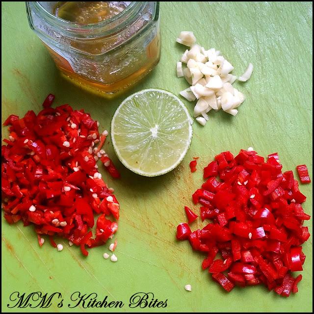 Prep for Chilli Garlic Jam mmskitchenbites