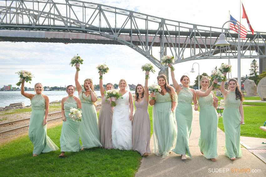 Port Huron Harbor Wedding Photography SudeepStudio,com Ann Arbor Wedding Photographer