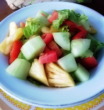 makanan penutup, salad, resep makanan penutup