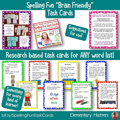 https://www.teacherspayteachers.com/Product/Spelling-Fun-Task-Cards-Research-Based-Sight-Word-Practice-Fun-for-ANY-Words-2821443?utm_source=blog%20post%20seven%20spelling%20strategies&utm_campaign=Spelling%20Fun%20Research%20Based