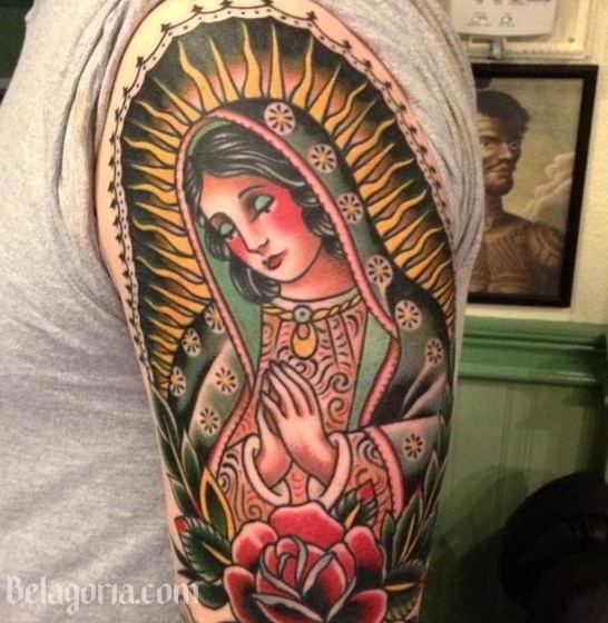 Tatuaje De La Virgen de Guadalupe