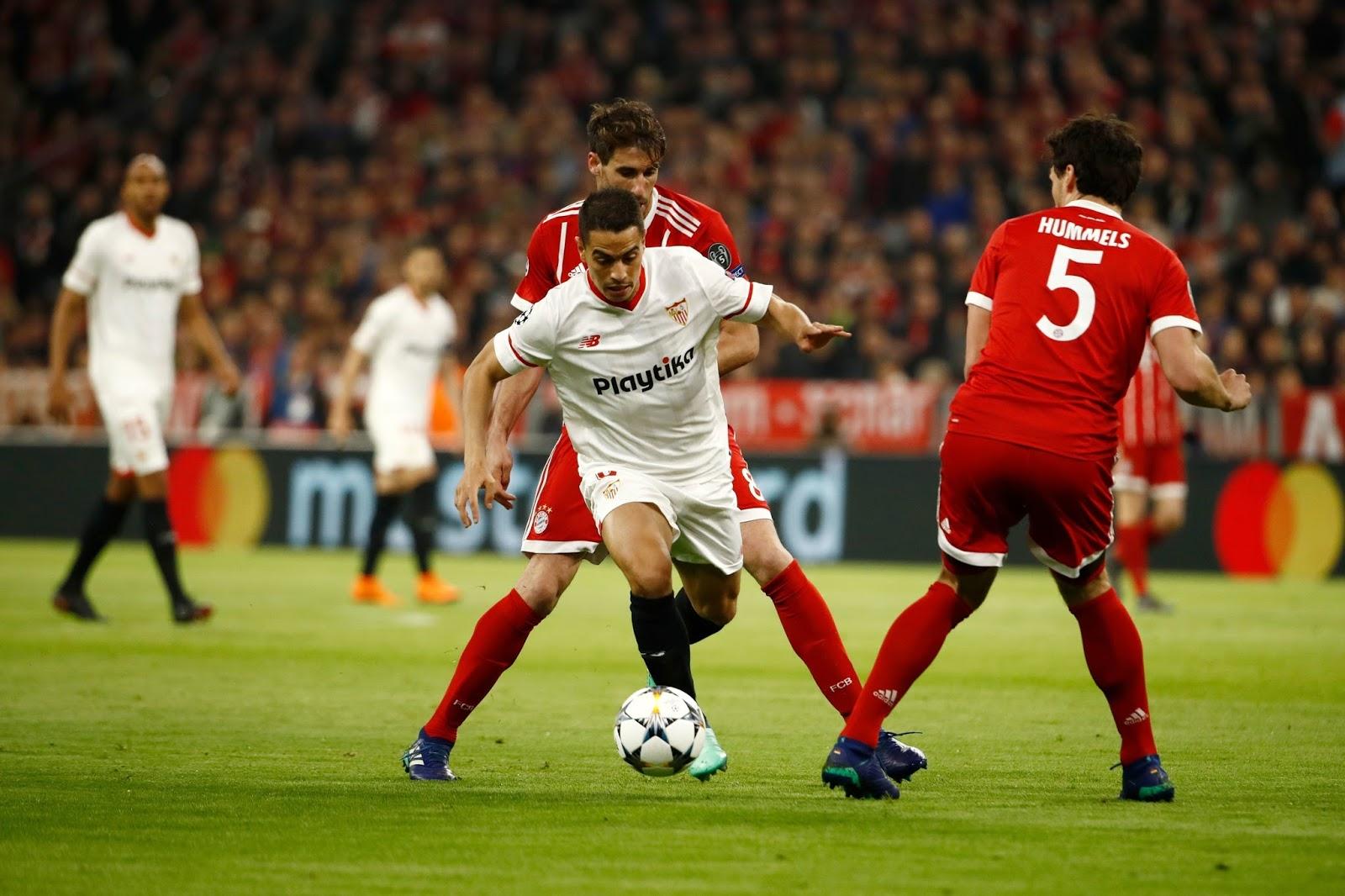 แทงบอล ไฮไลท์ เหตุการณ์การแข่งขัน บาเยิร์น มิวนิค vs เซบีย่า