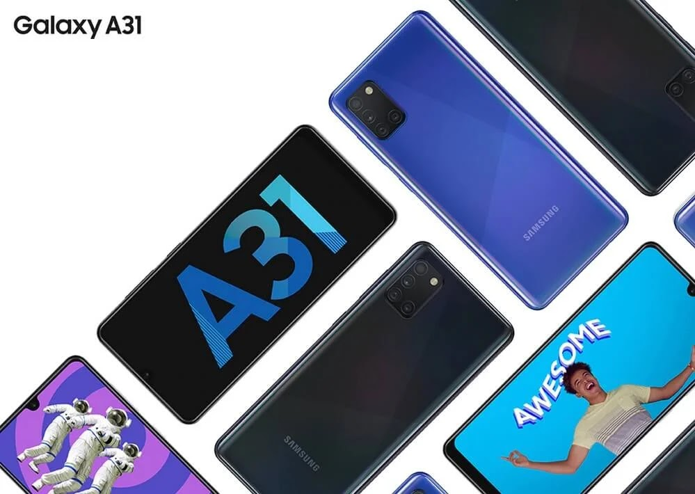 Samsung Galaxy A31 with 48MP Quad Camera and 5,000mAh Battery Now Available for Php14,990
