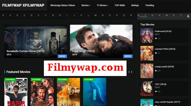 Filmywap.com- 2020 Latest Bollywood HD Movies Download