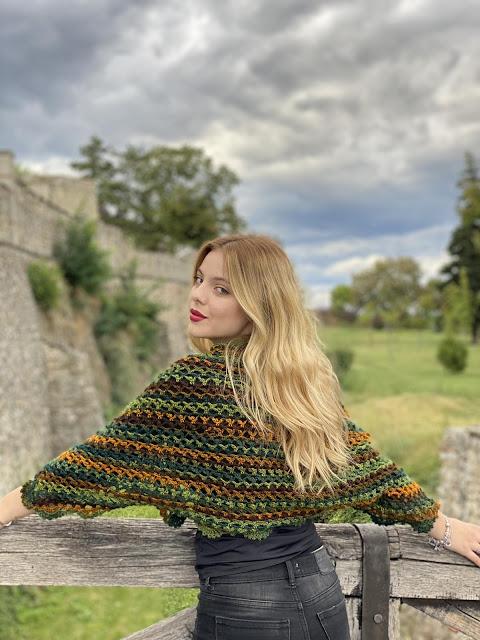 Crochet Foliage Shrug – pattern release