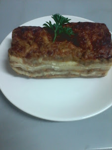 delicious of lasagna alforno