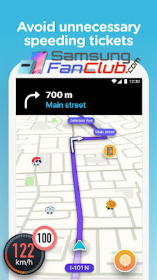 Waze GPS Offline Maps Live Navigation App for Android Samsung Galaxy S10 Plus