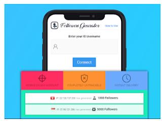 Followclout com Situs penghasil Followers Instagram gratis