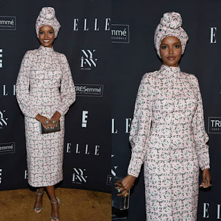 Muslim Model Halima Aden looking glamorous in new photo