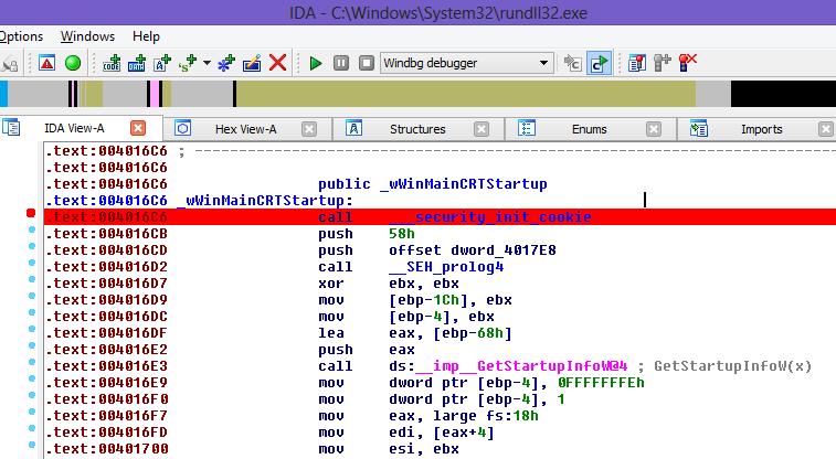 how to debug a dll file with IDA Pro + Windbg | brainMultiplexer
