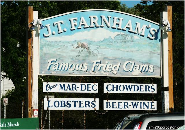 Lobster Shacks en Massachusetts: JT Farnham's