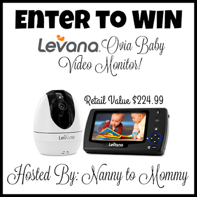 Enter the Levana Baby Video Monitor Giveaway. Ends 3/7