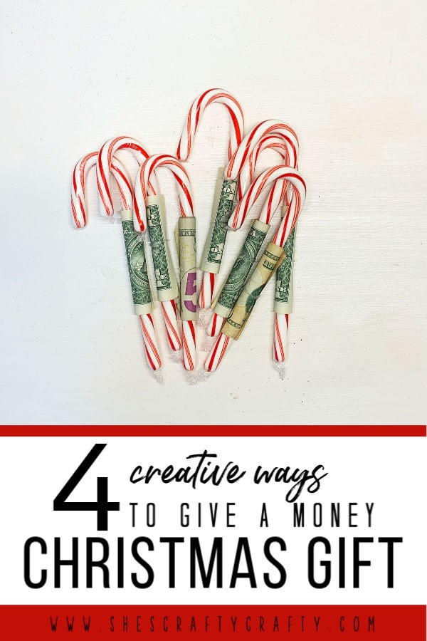 4 Creative Ways to Give Money for Christmas  |  Give the gift of money to anyone on your Christmas list with one of these creative gift ideas