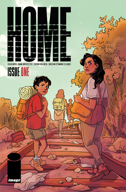 Home Launching in April from Image Comics
