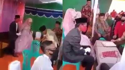 Viral Pria Talak Istri Beberapa Detik Setelah Ijab Kabul, Berakhir dengan Baku Hantam