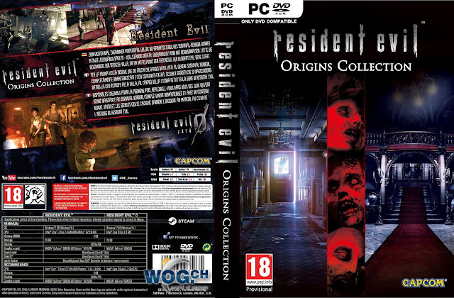 Capa Resident Evil Origins Collection PC