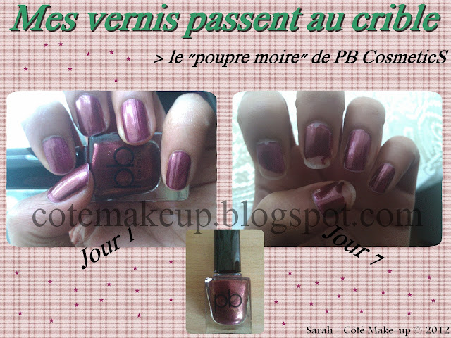 vernis pb cosmetics
