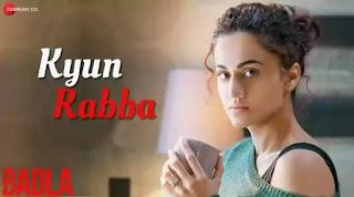 KYUN RABBA Lyrics - Armaan Malik   Badla