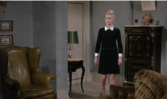 Deneuve movie dresses