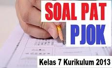 Download Soal PAT PJOK Kelas 7 SMP/MTs