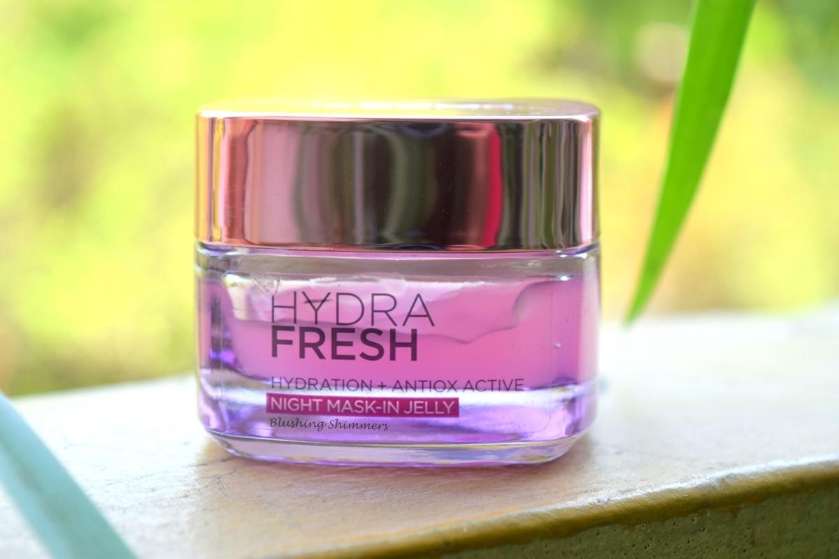 L'Oreal Hydra Fresh Night Mask In Jelly