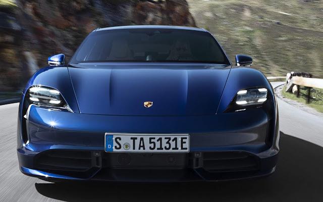 Porsche Taycan elétrico: preços e especificações - Europa