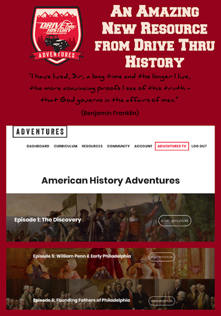 Drive Thru History, homeschool video curriculum, homeschool history curriculum