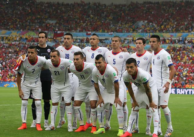 Formación de Chile ante España, Copa del Mundo Brasil 2014, 18 de junio