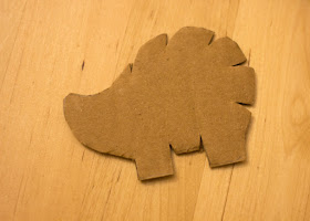 Super Cute Hedgehog String Art for kids! (Template included)