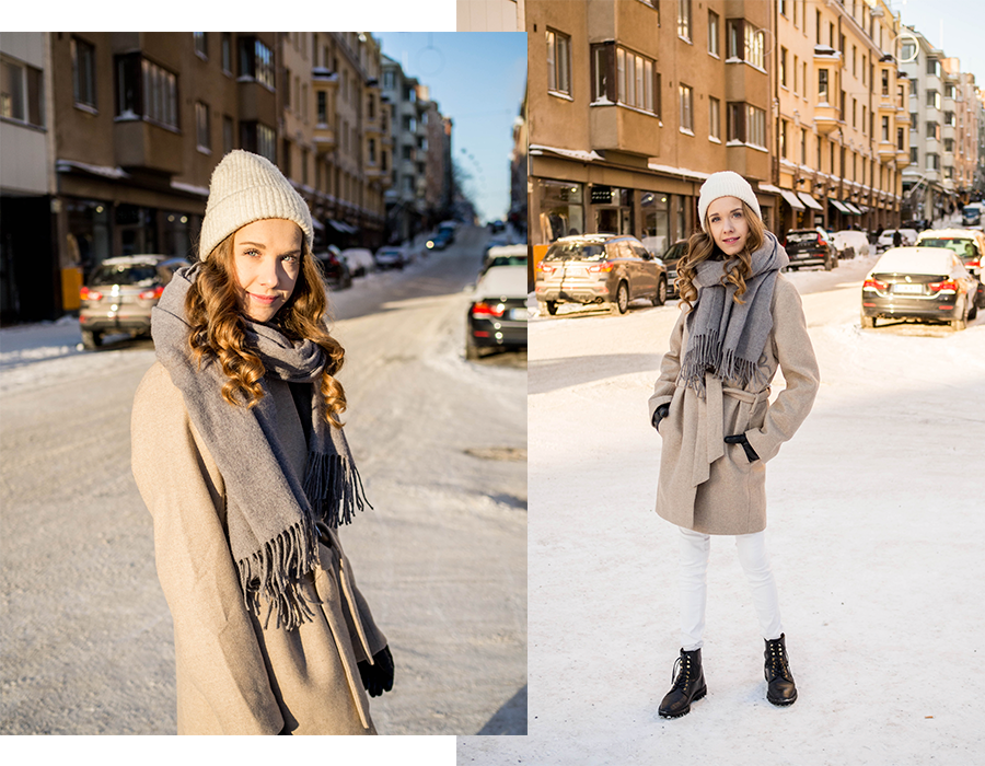 Neutraali talviasu // Neutral winter outfit