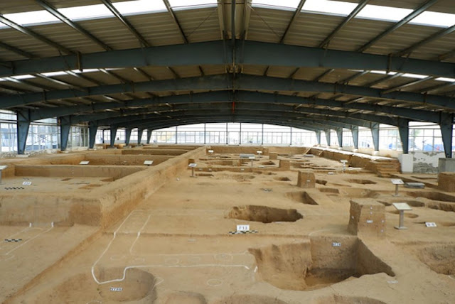 5,300-year-old city ruins discovered in central China