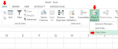 data table in excel, data table, what if analysis