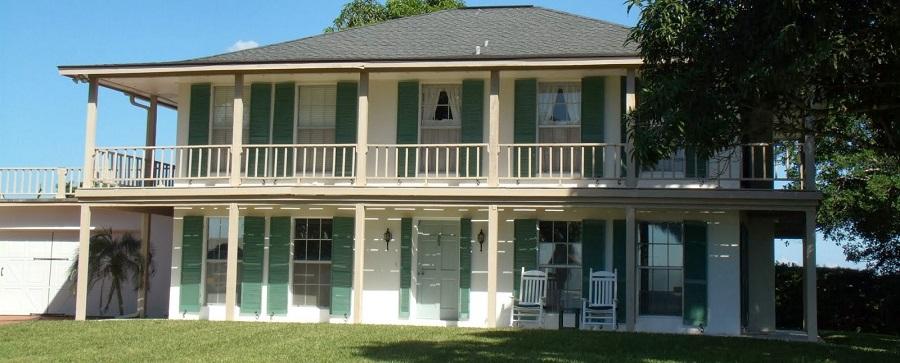 Casas en la porción sur de Merritt Island
