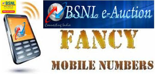AP CYMN Choose Your Mobile Numbers - Offer started to Select BSNL Number Online