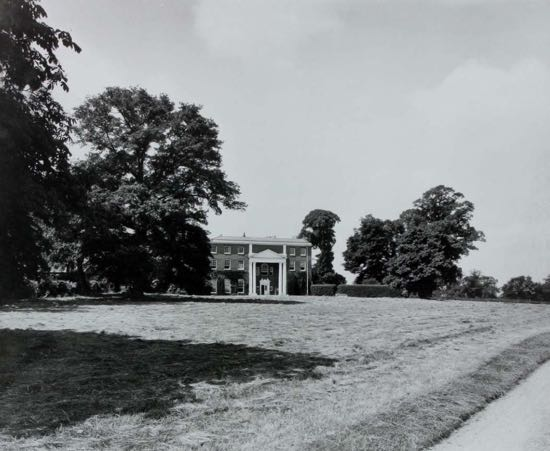 Image: Fig 5: The entrance front in 1933 (By courtesy of Lady Stourton)