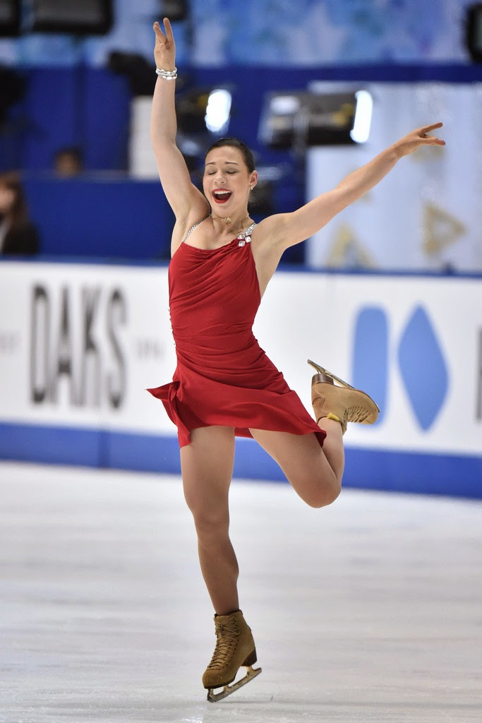 8ca7a3020d ICE STYLE.....2014 NHK Trophy Figure Skating Costumes  LADIES