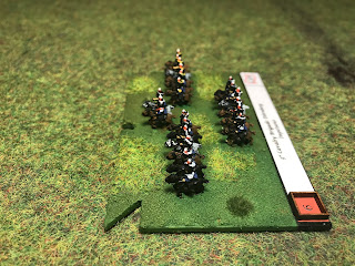 The 3rd Cavalry brigade in 6mm figures by Baccus