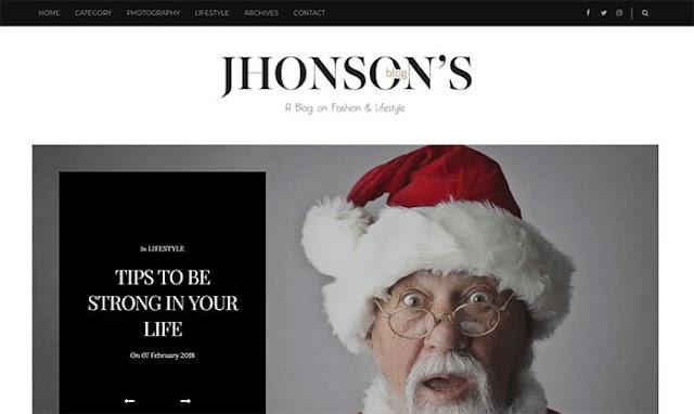 Theme Blogger Jhonsons