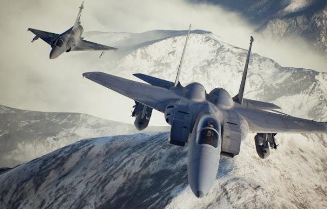 لعبة Ace Combat 7: Skies Unknown