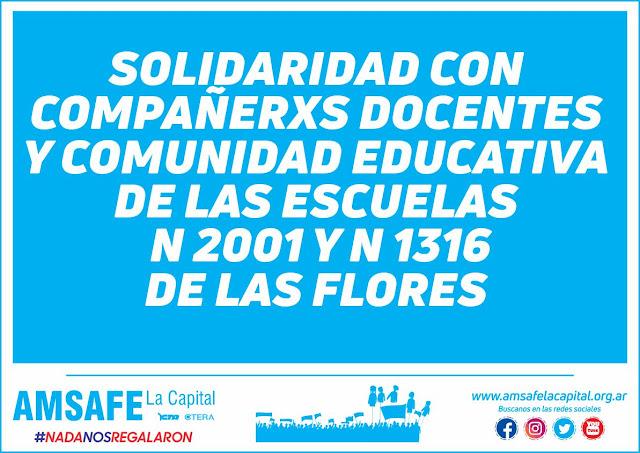 Comunicado de Amsafe La Capital