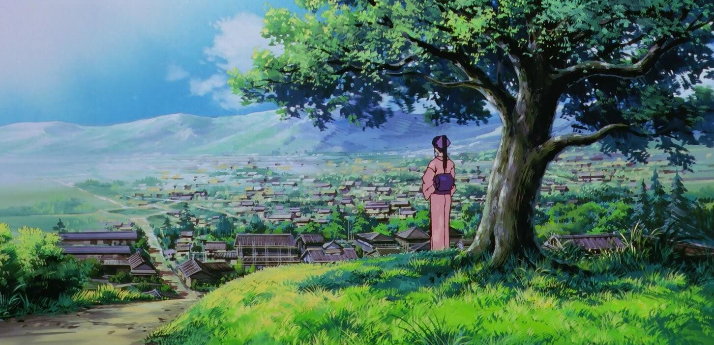 Kaoru waiting for Kenshin
